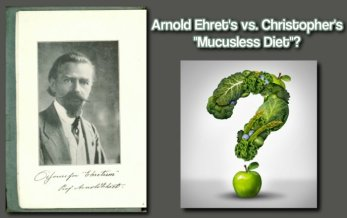dr christopher mucusless diet