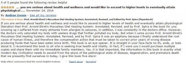 Andrae Amazon Review