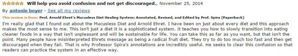 Antonio Boyer Amazon Review