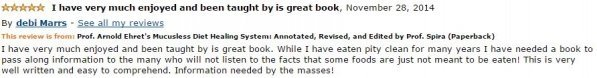 Debi Marrs Amazon Review