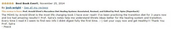 Josh Wright Amazon Review