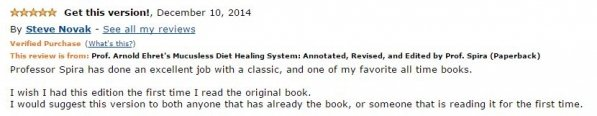 Steve Novack Amazon Review