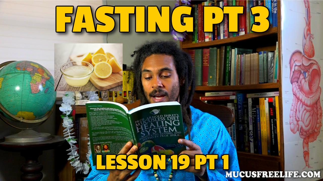 lemonade fasting