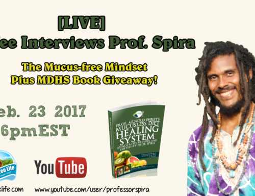 [LIVE] BoYee Interviews Prof. Spira about the Mucus-free Mindset Plus Book Giveaway (Feb. 23, 2017 @6pmEST)