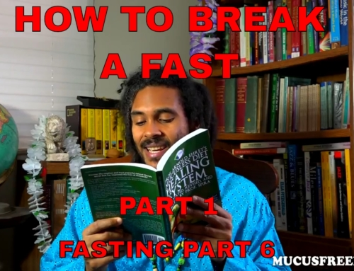 How to Break a Fast?: Lesson 19 Mucusless Diet