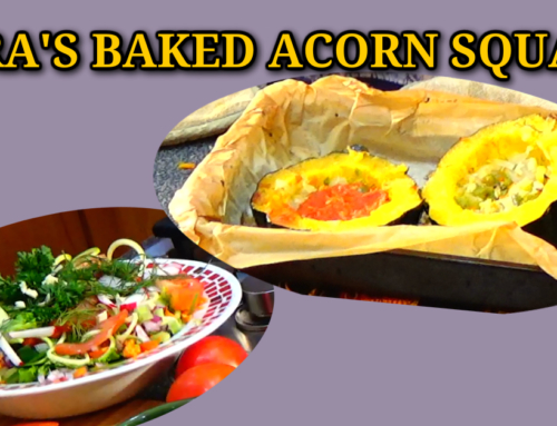 Mucusless Diet Recipes: Spira's Baked Acorn Squash