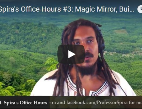 Prof. Spira's Office Hours #4: Throat Mucus, Transition Foods to Avoid, B12, Mucus-eating Bad Dreams