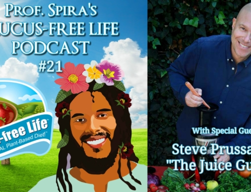 "Steve Prussack ""The Juice Guru"" Interview – Mucus-free Life Podcast Ep. #21"